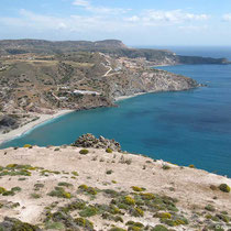 Der Strand von Agia Kyriaki
