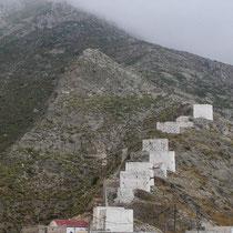 Karpathos: Über 70 Windmühlen hat es um Olymbos gegeben...