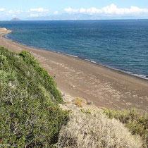 Der Strand von Liés