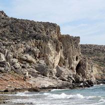 Felsenküste am Kap Trachilos