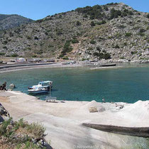 Die Bucht von Palamidas