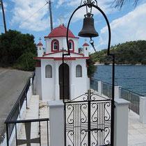 Kapelle am Ortseingang von Vathy