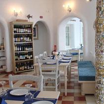 Amorgos: Taverne Anemolithi bei Kamari