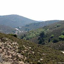 Blick nach Osten bis Agia Irini