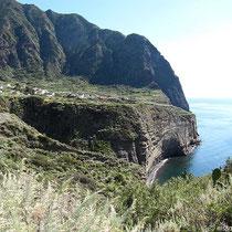 Steilküste bei Pollara