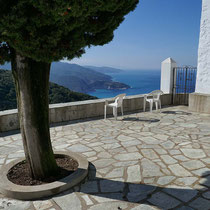 Schöne Terrasse ...