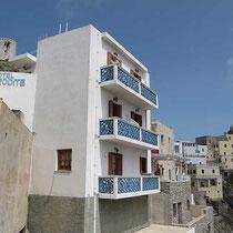 Hotel Afrodite - schmal und hoch