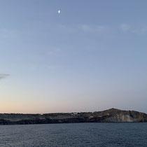 Santorin am frühen Morgen