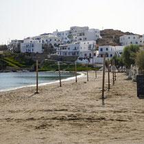 Der Strand von Loutra