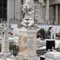 Eine Grabbüste