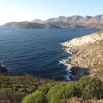 Blick von Kastelli nach Emborios