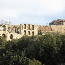 Herodes-Atticus-Theater und Parthenon