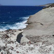 Die glattgeschliffene Küste