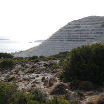 Die große Pozzulan-Mine ..