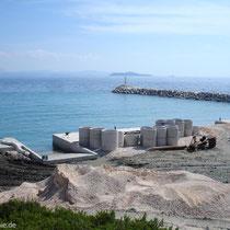 Hafen im Ausbau