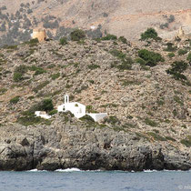 Die Kapelle von Loutro