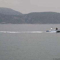 Boot nach Kastos