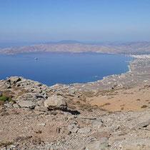 Die Bucht von Karystos