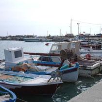 Im Avlaki-Hafen
