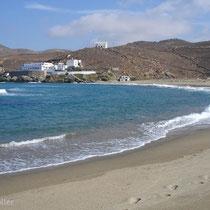 Tinos: Strand von Kolymbithra