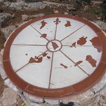 Inselübersicht aus Keramik