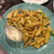 Zucchini-Fritten
