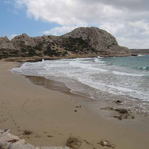 Am Stand von Agios Nikolaos