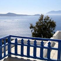 Milos: Sommer auf'm Balkon