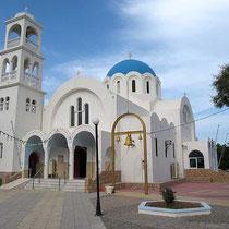 Die Kirche Agii Anargiri in Skala