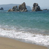 Am Mavrospilia-Strand