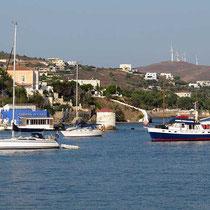 In Agia Marina, Leros