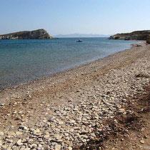 Xirokambos-Strand