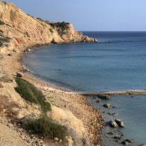 Am Strand von Kipos ....