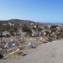 Die Müllkippe von Kythnos