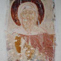 Kalymnos: Fresko im Kastro