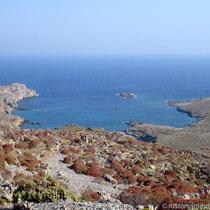 Karpathos: Blick auf Vrougounda