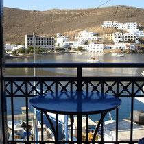 Kythnos: Blick vom Hotelzimmer