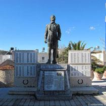 Das Denkmal für die Opfer der Besatzung(en)