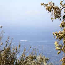 Andros: Blick von der Westküste