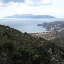 Die Bucht von Milopotas