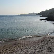 Der Strand von Kapsali