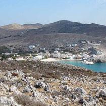 Die Bucht von Avlakia...