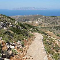 Der Weg vom Berg