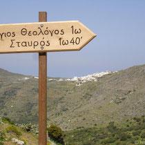 Amorgos: Wegweiser