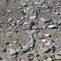 Sand und Kiesel