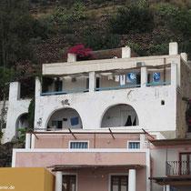 """Die Wohnung """"Eucalipto"""" liegt im oberen Stock hinter der Wohung der Gastgeber (mit dem breten Balkon)"""