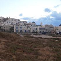 Naxos von hinten