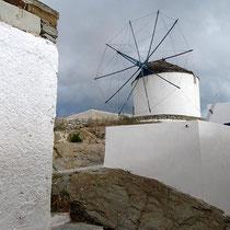 Eine der Windmühlen