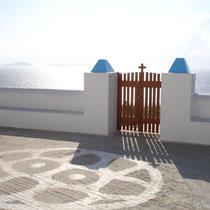 Tor bei der Panagia-Kapelle
