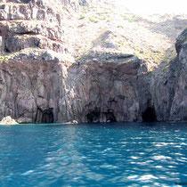 Höhlen....